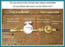 HPCCU: eau fuite sur compteur